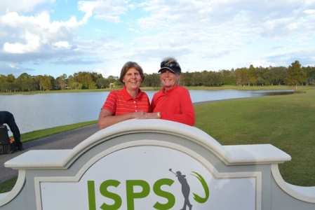 Legends Tour Championship 2012, Barb & sister Kathi