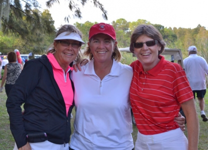 Legends Tour 2012 Cindy Miller, Allison Finney and Barb